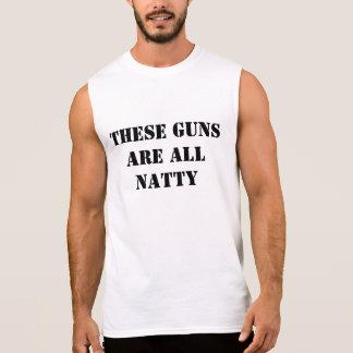 Diese Gewehre sind alle Natty Ärmelloses Shirt