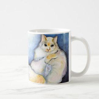 Diese Katze! Kaffeetasse