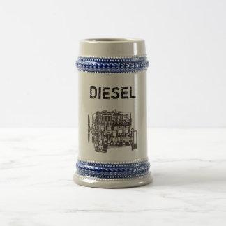 DieselMercedes Stein Bierglas