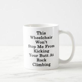 Dieser Rollstuhl stoppt mich nicht vom Treten Kaffeetasse