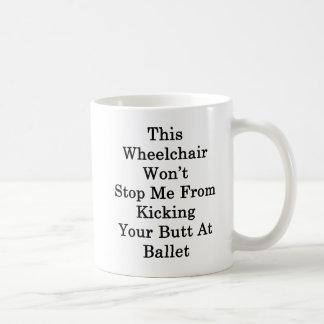 Dieser Rollstuhl stoppt mich nicht vom Treten Tasse