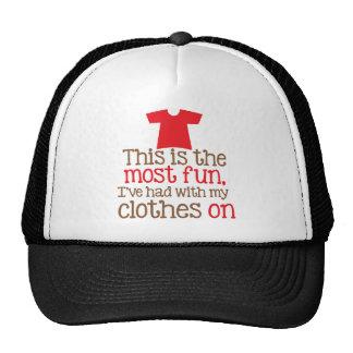 Dieses ist der meiste Spaß, den ich mit meiner Trucker Mütze