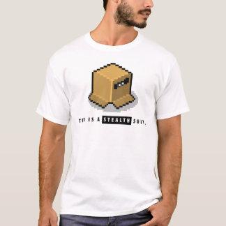Dieses ist ein Heimlichkeits-Anzug T-Shirt
