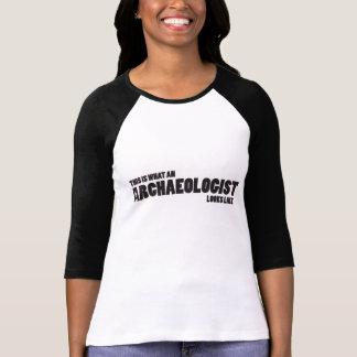 """""""Dieses ist, ein welcher Archäologe wie"""" Raglan T-Shirt"""