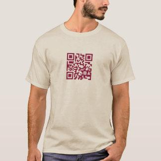 dieses ist eine dunkle Himbeere QR Codes… T-Shirt
