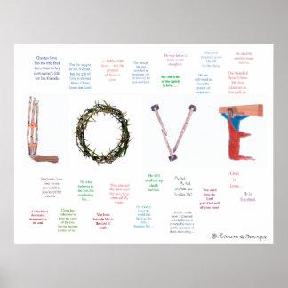 Dieses ist Liebe Poster