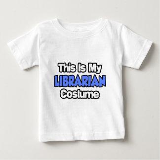 Dieses ist mein Bibliothekar-Kostüm Baby T-shirt
