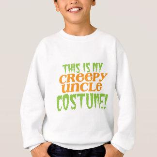 Dieses ist mein GRUSELIGER ONKEL Kostüm lustiges Sweatshirt