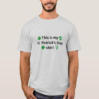Dieses ist meines St Patrick TagesShirt T-Shirt