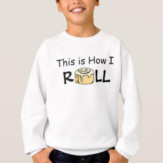 Dieses ist, wie ich Cartoon-Zimtgebäck-lustiges Sweatshirt