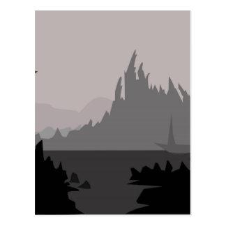 Digi Berge Postkarte