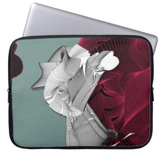 Digital-Kunst-Zahl Computer Sleeve Schutzhülle