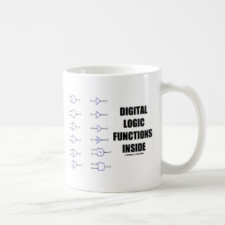 Digital-Logik-Funktions-Innere (Computer) Tasse