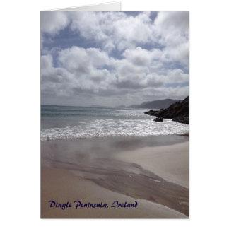 Dingle-Halbinsel-Irland-Karte Grußkarte