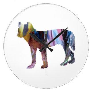 Dingo Große Wanduhr