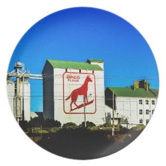 Dingo-Mehl-Fabrik Freo Melaminteller