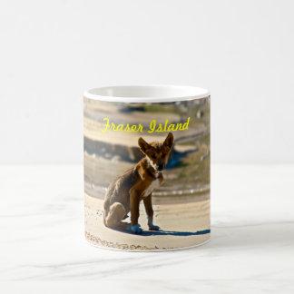 Dingo-Welpe - Fraser Insel Kaffeetasse
