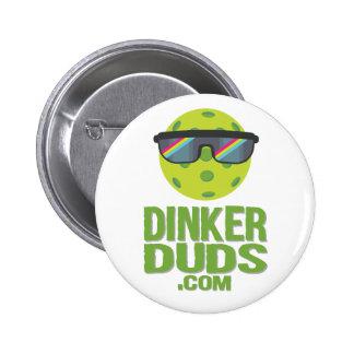 Dinker Klamotten Pickleball Knopf Runder Button 5,7 Cm