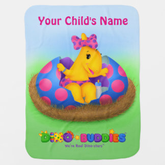 Dino-Buddies™ Baby-Decke w/Lisi™