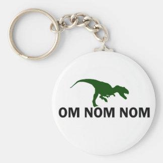 Dinosaurier Rawr OM Nom Nom hat Hunger Schlüsselanhänger