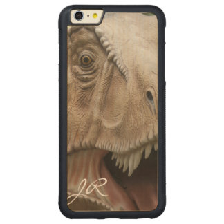 Dinosaurier T Rex Carved® Maple iPhone 6 Plus Bumper Hülle