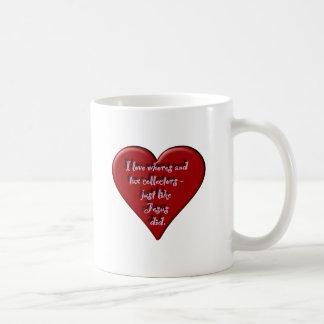 Dirnen der Liebe I und Steuereinzieher Tasse