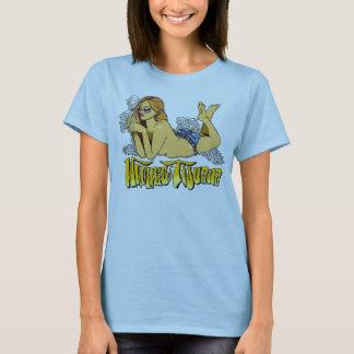 Dirnen ursprünglichen rauchenden Mädchens Tijuanas T-Shirt