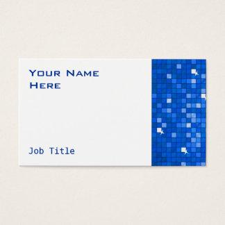 Disco deckt dunkelblaues Visitenkarteseitenweiß Visitenkarte