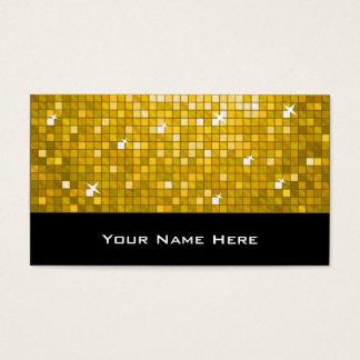 "Disco deckt ""Gold"" Visitenkarteschwarzes mit Visitenkarte"