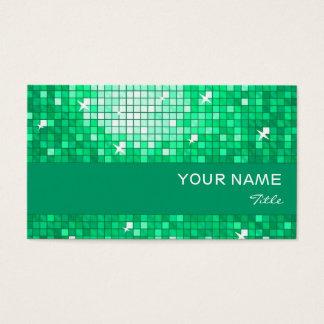 Disco deckt Jade-Visitenkarte-Jadestreifen mit Visitenkarte
