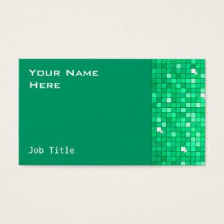 Disco deckt Jade-Visitenkarteseite mit Ziegeln Visitenkarte