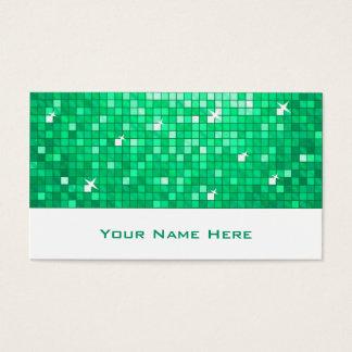Disco deckt Jade-Visitenkarteweiß mit Ziegeln Visitenkarte