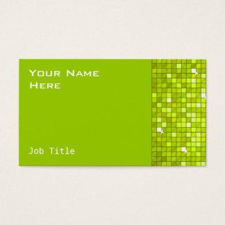 Disco deckt Limone Geschäftskartenseite mit Visitenkarte