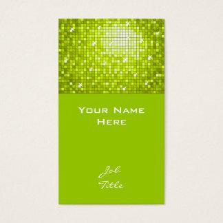 Disco deckt Limone Geschäftskartenspitze mit Visitenkarte