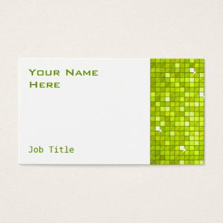 Disco deckt Limones Geschäftskarten-Seitenweiß mit Visitenkarte