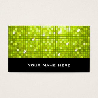 Disco deckt Limones Geschäftskartenschwarzes mit Visitenkarte