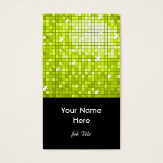 Disco deckt Limones Geschäftskartenschwarzporträt Visitenkarte