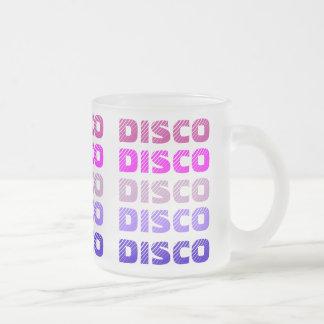 DISCO-Tasse (mattiertes Glas) Matte Glastasse