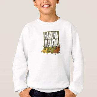 Disney-Löwe-König Hakuna Matata! Sweatshirt
