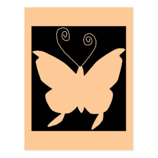 Diva-Schmetterling Postkarten