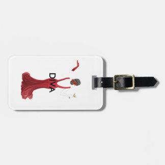 Diva toast illustration kofferanhänger