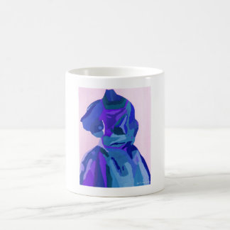 DivaFashionista in Blau I Tasse