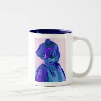 DivaFashionista in Blau I Zweifarbige Tasse