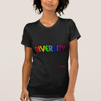 Diversity (Regenbogen) (Damenbluse dargestellt) T-Shirt