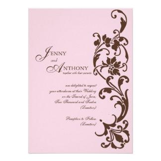 DIY elegante Einfachheit im Rosa und in der Schoko