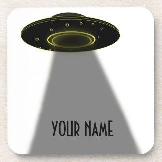DIY GEWOHNHEITS-UFO, SCHREIBEN IHREN NAMEN GETRÄNKEUNTERSETZER