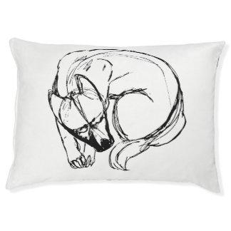 Diy Hundebettkunst Haustierbett