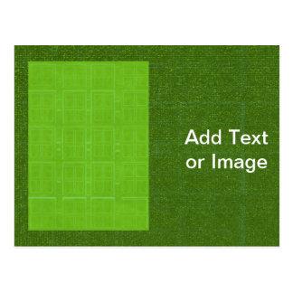 DIY Kunst-Werkzeuge - grüne reiche Oberflächen Postkarten