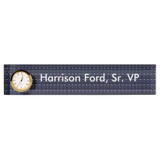 DIY Schablonenänderungstext-Hintergrund Namensplakette
