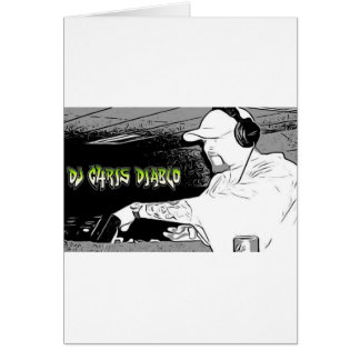 DJ CHRIS DIABLO - DJ-LOGO 4 KARTE